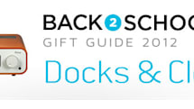 Engadget's back to school guide 2012: docks and clocks