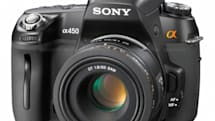 Sony launches Alpha A450 DSLR