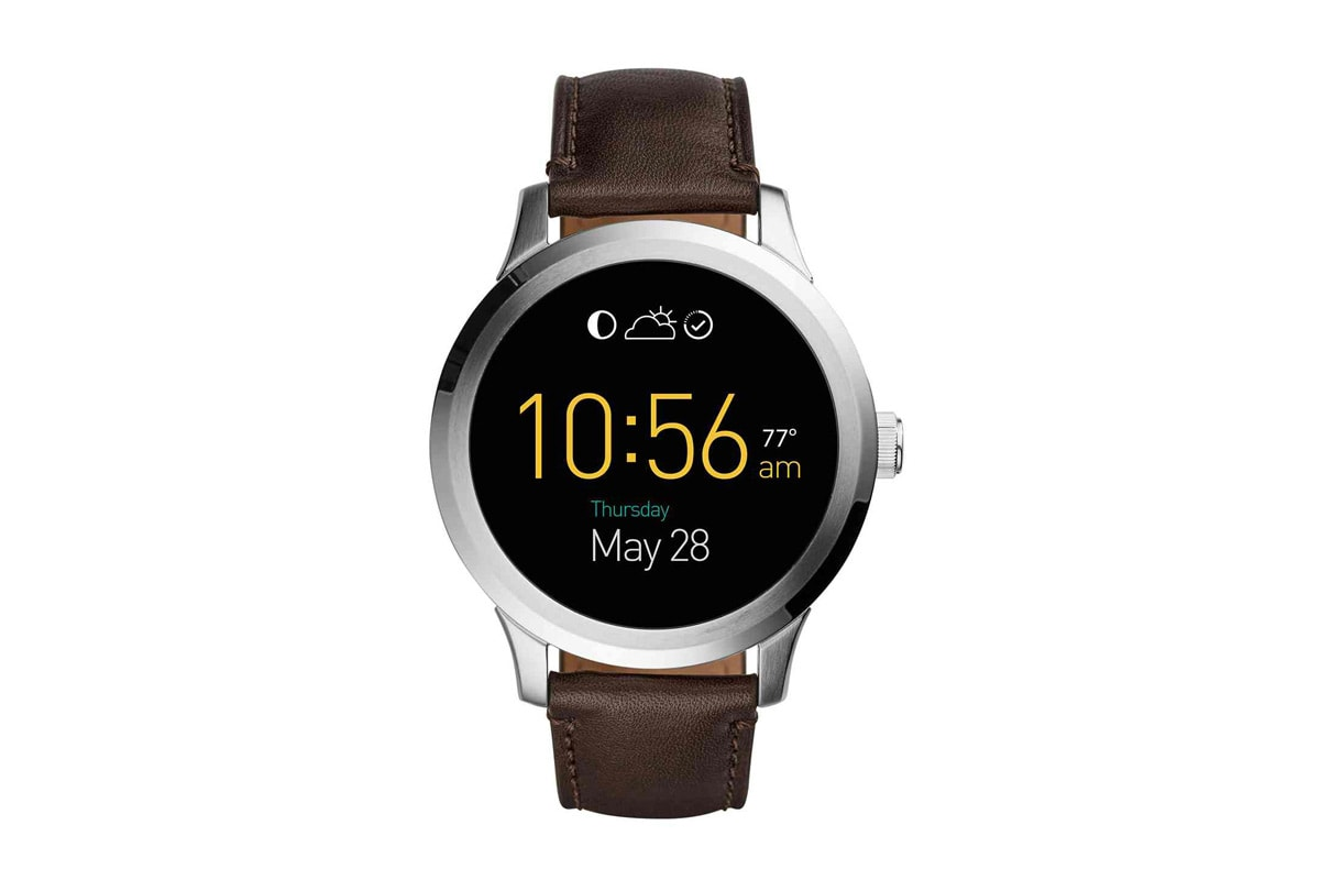 fossil launches its android wear watch and a slew of. Black Bedroom Furniture Sets. Home Design Ideas