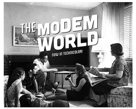 This is the Modem World: Why we go retro