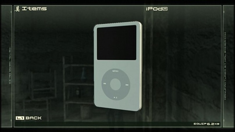 Screen Grabs: Metal Gear Solid 4 gets iPod and Sony Ericsson product placement