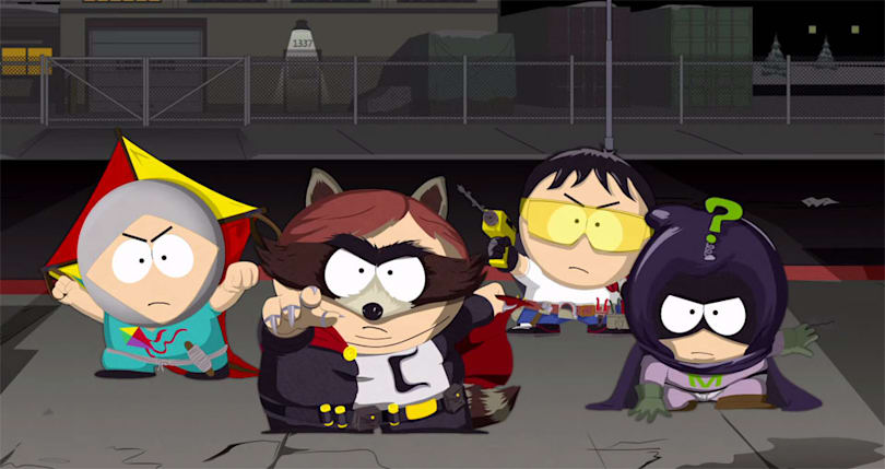 There's a new 'South Park' game and it's all about superheroes