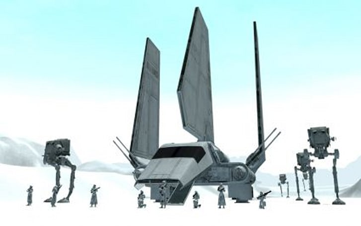 The Star Wars Galaxies devs on how Hoth was made