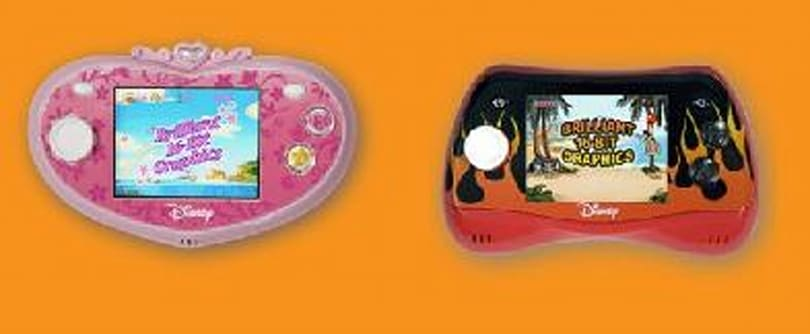 Disney GAME iT! portable consoles for the PB&J crowd