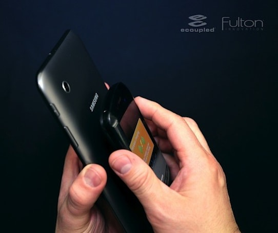 Fulton Innovation to demo tablet that doubles as wireless charging mat at CES