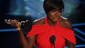 See Viola Davis' Powerful Winning Speech