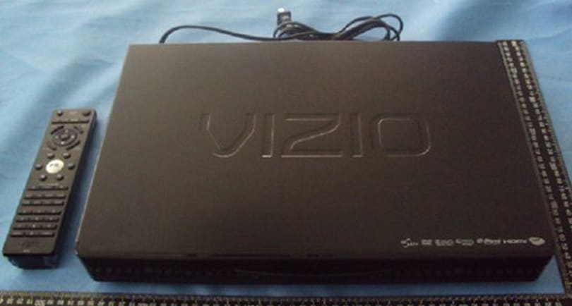 VIZIO shoots a 3D Blu-ray player through the FCC on its way to retail