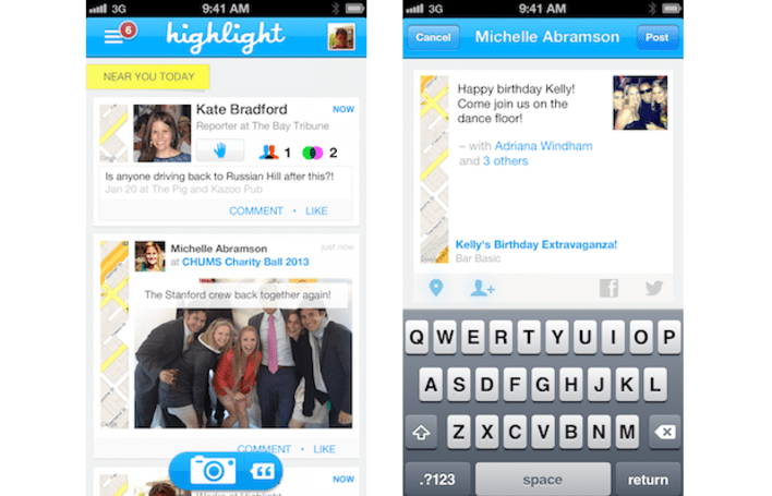 Highlight people discovery app adds Photos and Events to its 1.5 update