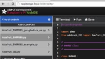 Adafruit releases WebIDE alpha for Raspberry Pi, eases beginners into coding