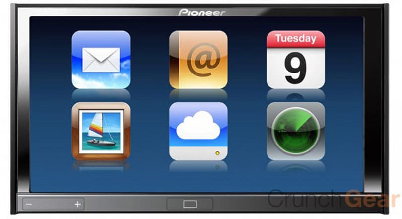 Pioneer AppRadio brings apps, iPhone connectivity to your dash