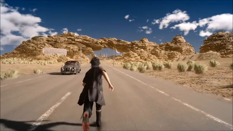 'Final Fantasy XV' out-of-bounds glitch reveals an unused open world