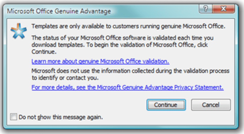 Microsoft axes Office Genuine Advantage, says program has 'served its purpose'