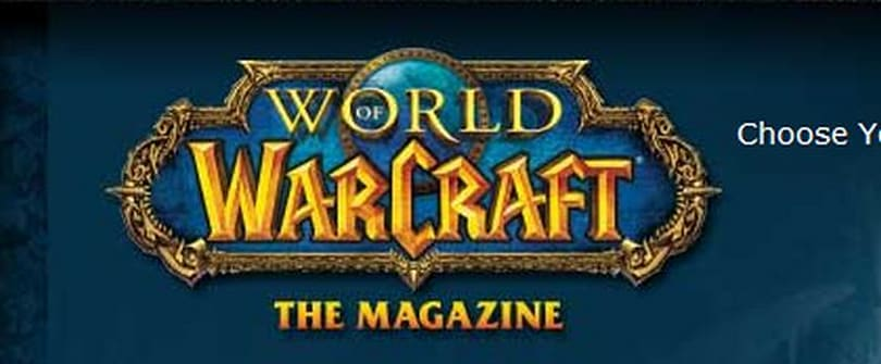 World of Warcraft: The Magazine still coming later this year