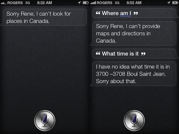 Siri gets lost internationally, promises to do better next year