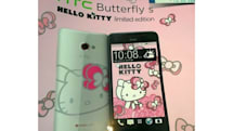 HTC to show its soft side with Hello Kitty edition Butterfly s