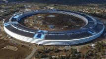 Der quasi fertige Apple Campus 2 aus Vogelperspektive