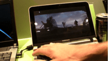 Video: NVIDIA Tegra's GPU gets busy with HD video and full-screen Flash -- Intel 945GSE shrugs, kicks dirt