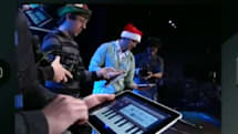 Found Footage: Christmas songs played by an iPad band