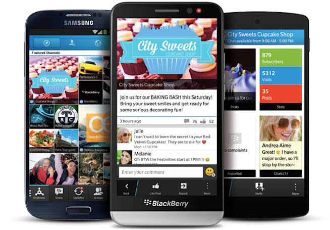 BlackBerry's ultra-secure chat gives each message its own security key