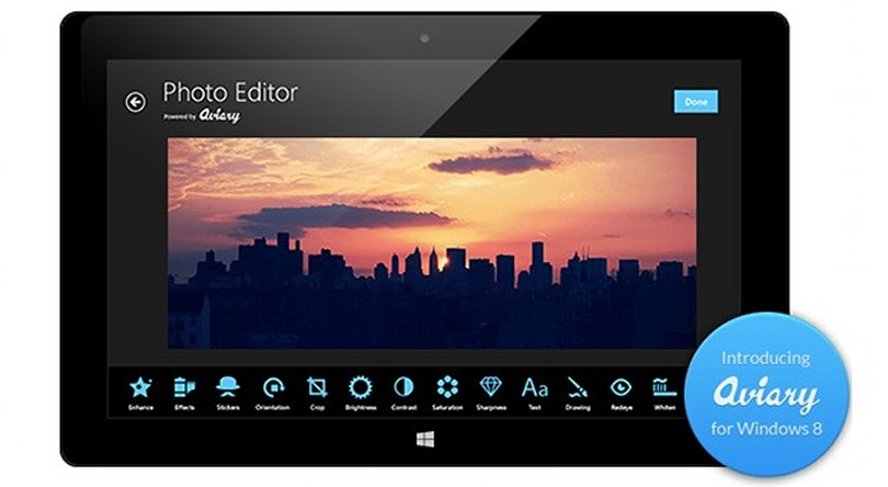 Aviary launches photo-editing SDK for Windows 8 developers