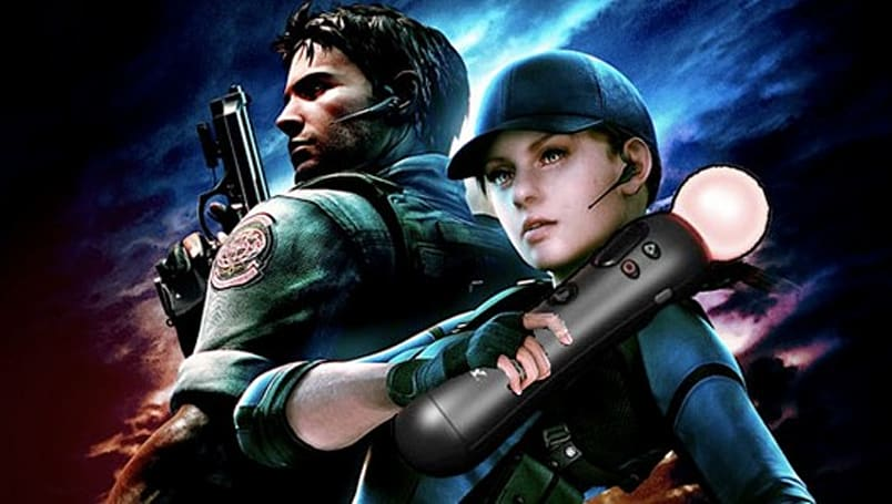 PlayStation Move bundled with Resident Evil 5 in Japan