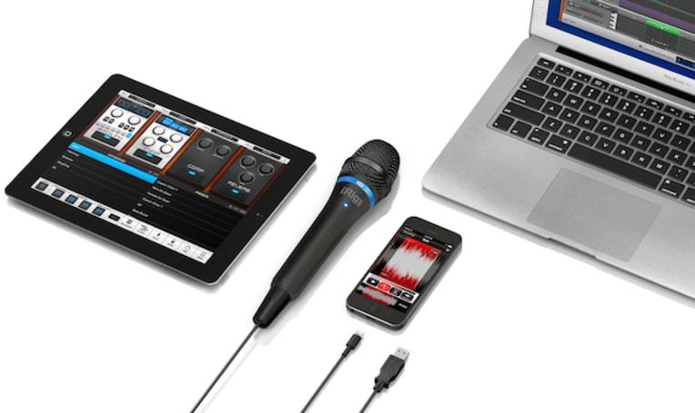 iRig Mic HD: 24-bit digital mic for studio and mobile recording (Updated)