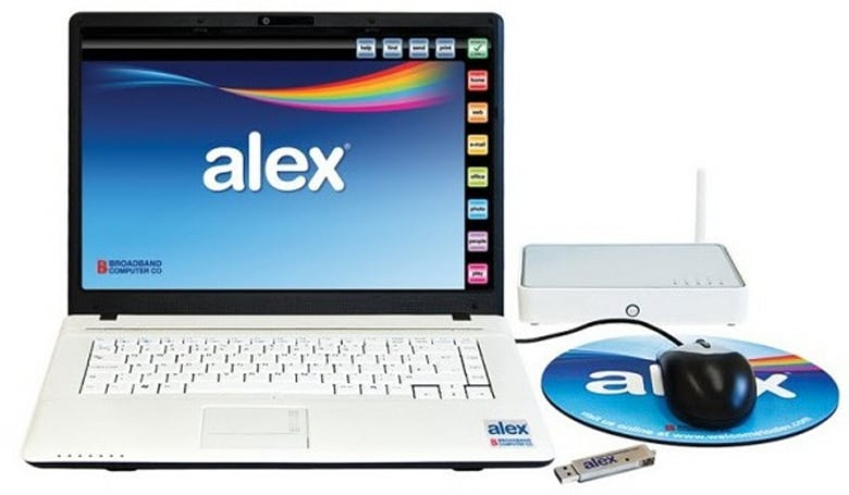 BCC launches Alex, the laptop free of hassles but not monthly surcharges (video)