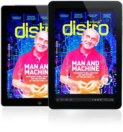 Distro Issue 37 chats with Microsoft's Bill Buxton on the future of the natural UI