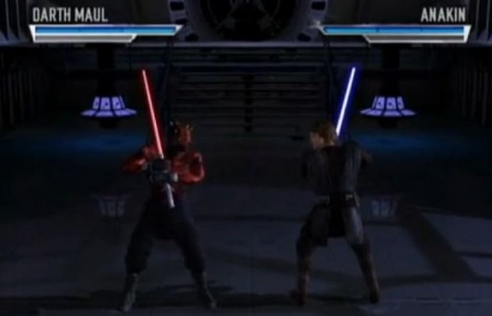 Dev shares prototype footage of never-made Star Wars fighting game