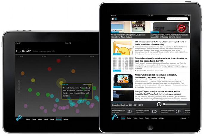 Engadget for iPad now available!