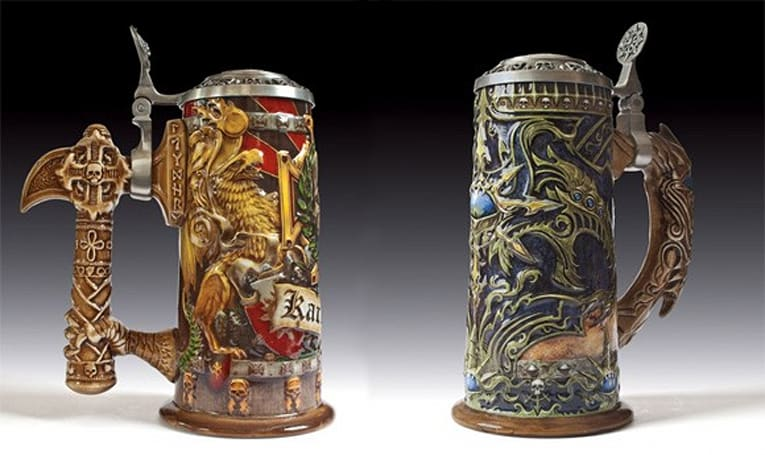 Get your drink on with an epic Warhammer beer stein