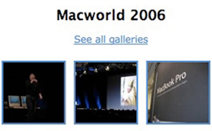A look back at Macworld 2006 - a TUAW gallery