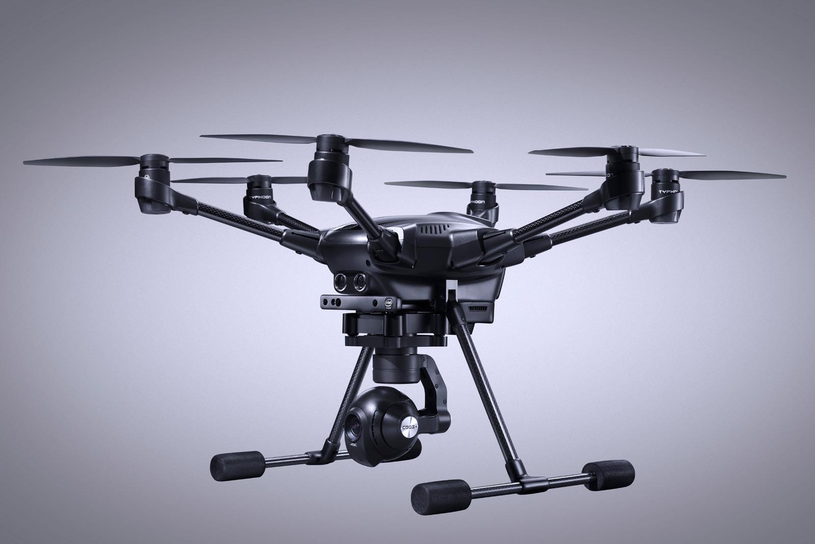 昊翔首台搭载 RealSense 深度相机的无人机正式开放预订