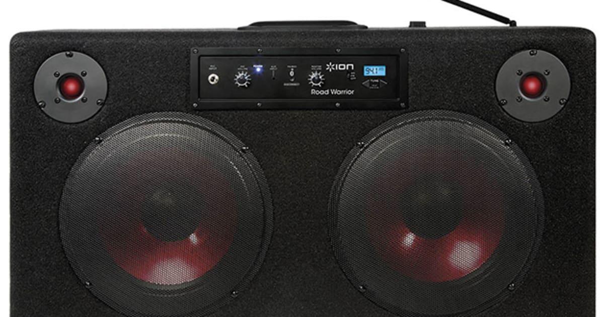 road warrior bluetooth speaker plans to amp up your. Black Bedroom Furniture Sets. Home Design Ideas