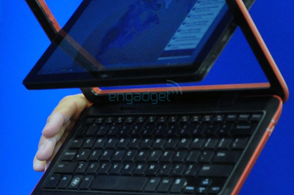 Dell's Atom-powered Inspiron Duo: 10-inch netbook / tablet ...