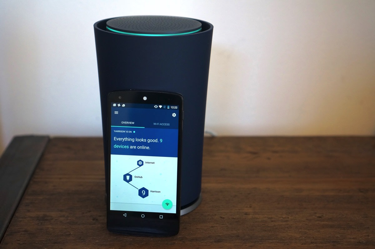 Google Onhub Review Routers Don T Have To Be So Complicated