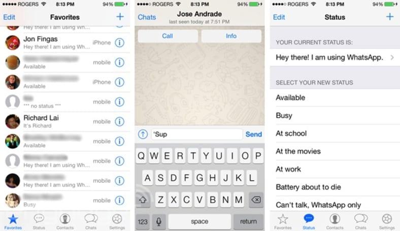 WhatsApp Messenger gets its long-awaited iOS 7 makeover