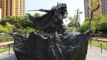 Blizzard stellt WoW-Fiesling als 2-Tonnen-Skulptur in den Park