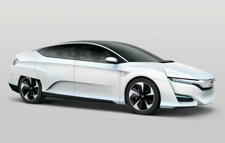 Honda's fuel cell car is late, so look at this concept car instead