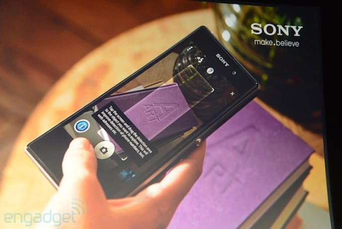 Sony announces the Social Suite for the Xperia Z1 with Info-Eye AR app and Time Shift Burst