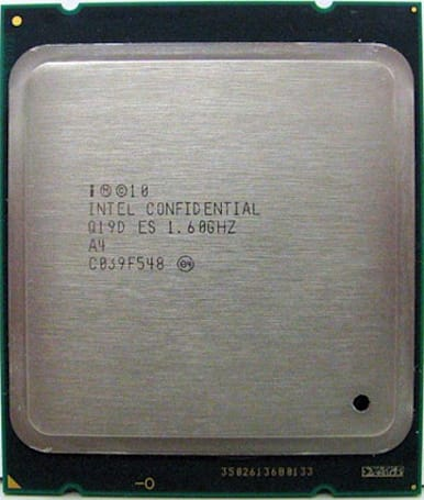 Eight-core Intel Sandy Bridge E chips listed on, pulled from eBay