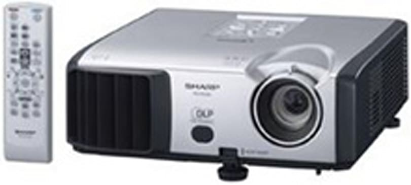 Sharp introduces PG-F255W 720p DLP projector for under $1,000
