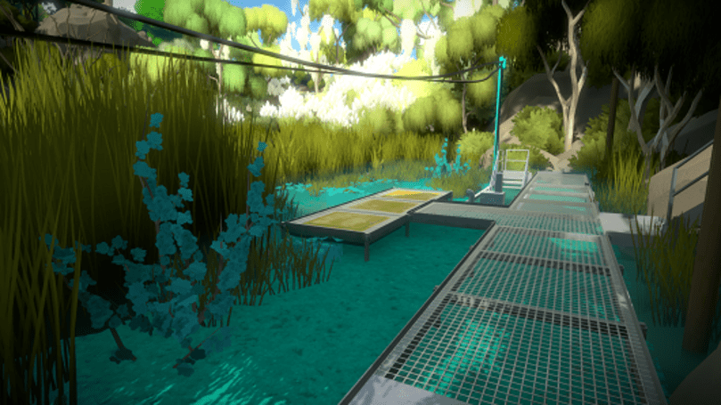 Sit back and take a gander at these idyllic The Witness screens