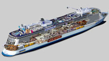 Royal Caribbean's latest ship sports a robot bar, super-fast connectivity