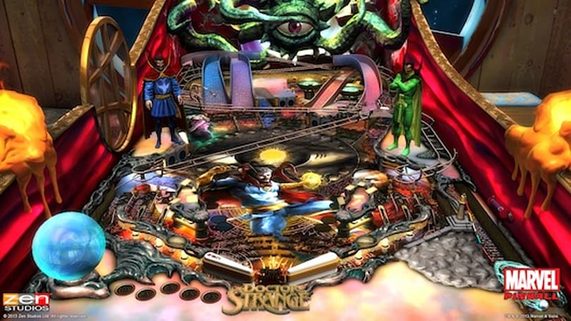 Doctor Strange table coming to Marvel Pinball in December