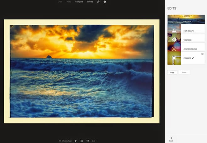 Google+ Photos now lets you go back and re-edit pics you already edited