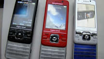 Sony Ericsson's Cyber-shot C903 spotted in all three colors