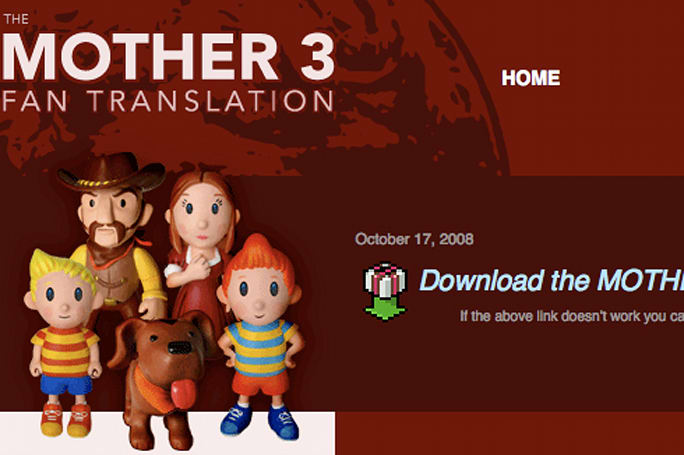 Mother 3 translator offers localized files to Nintendo for free