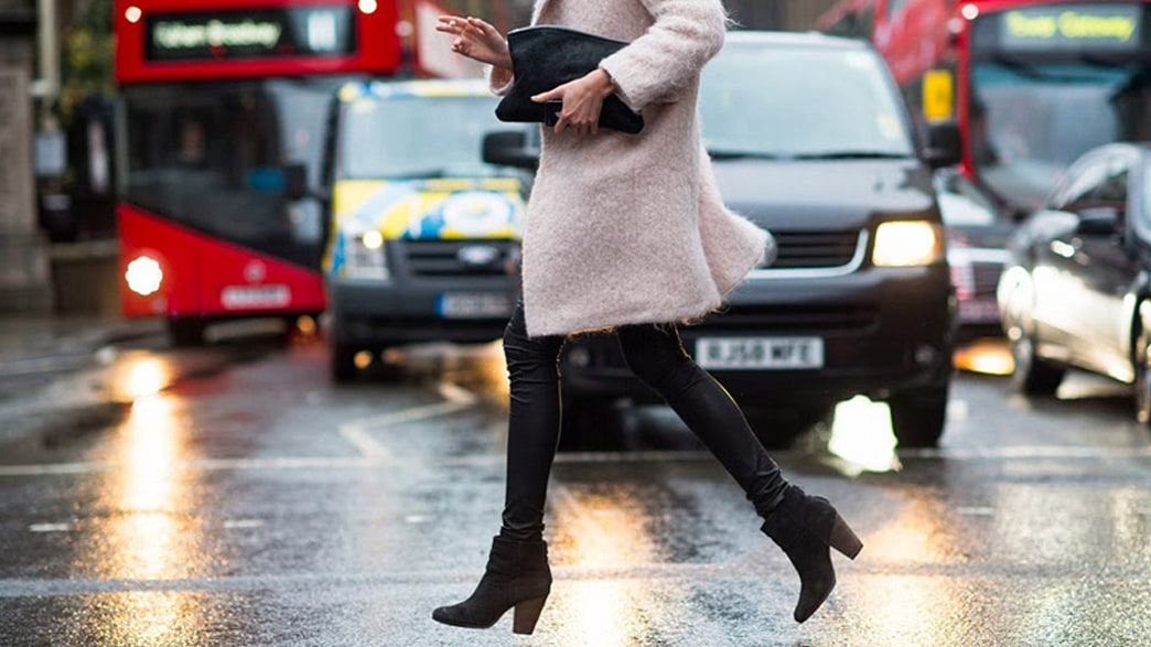 How to take care of suede shoes in winter