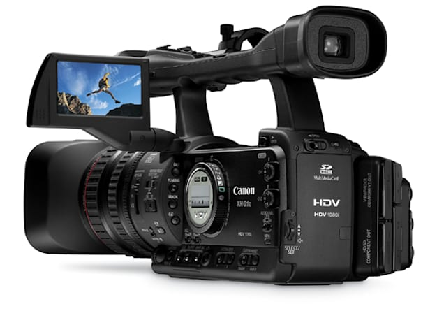 Canon announces XH A1S and XH G1S prosumer HD camcorders